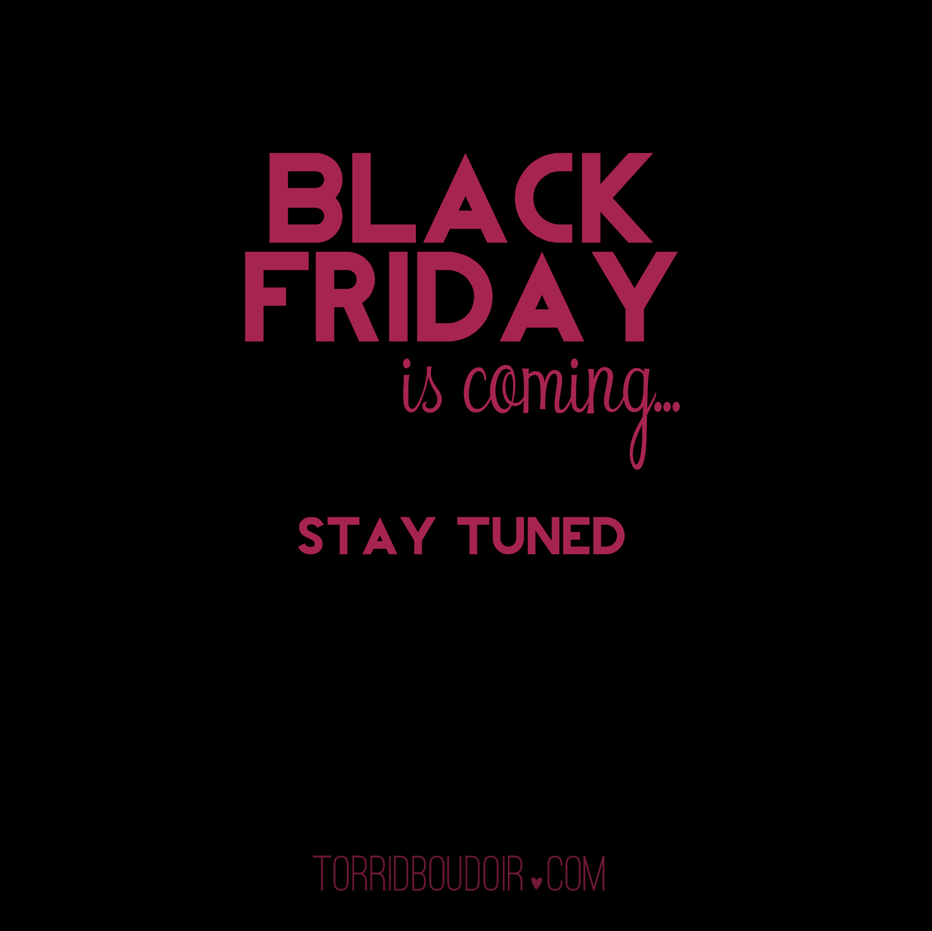 Black Friday is coming... | Pflugerville Boudoir Photography - Torrid ...